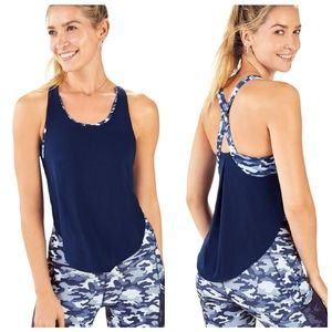 Fabletics Giselle Powertouch Swing Work Out Tank